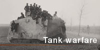 First World War Tank warfare